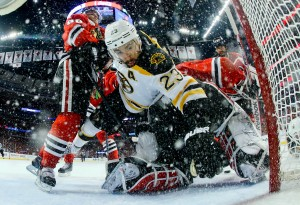 APTOPIX Stanley Cup Bruins Blackhawks Hockey